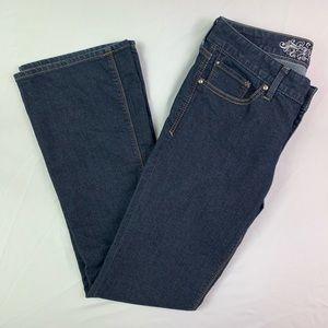 Express Dark Wash Boot Cut Jeans Size 4